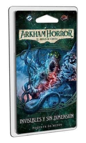 Fantasy Flight Games- Arkham Horror LCG: Invisibles y sin dimensión - Español, Color (FFAHC06)