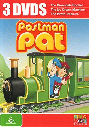 Postman Pat - 3-DVD Set ( Greendale Rocket / Ice Cream Machine / Pirate Treasure ) [ NON-USA FORMAT, PAL, Reg.4 Import - Australia ]