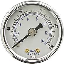 Sellerocity Kit Heavy Duty Pressure Gauge & Bushing Compatible with Dewalt Devilbiss Porter Cable 5130205-00