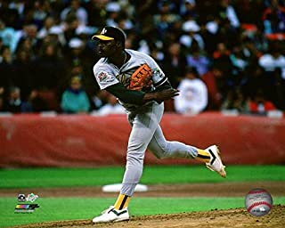 Dave Stewart Oakland A's Action Photo (Size: 8