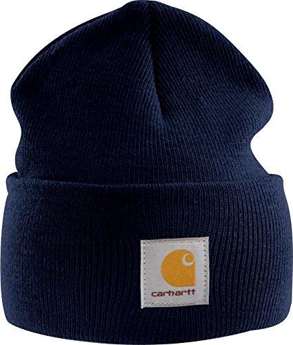 Carhartt A18 Watch Hat Beanie, Dunkelblau, Einheitsgröße