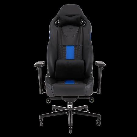 CORSAIR WW T2 ROAD WARRIOR Gaming Chair Comfort Design, Black/Blue