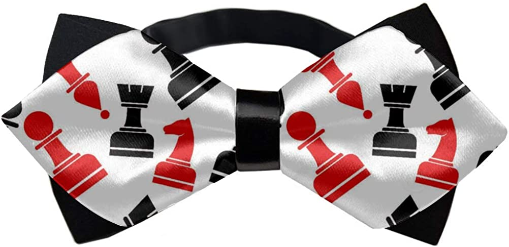 Adjustable Length Tuxedo Bow Tie - Birthday Gift Formal Fun Occasions Bowtie