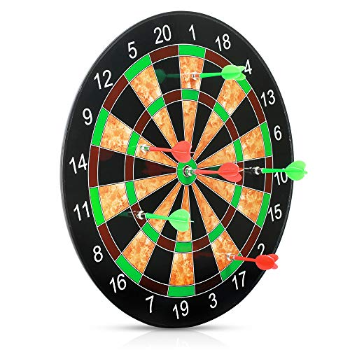 Fantastic Boom Dart Board, Magnetic Dart Board, Boys Toys, Magnetic Dart Set Game with 6 Darts of 2 Colors,Boys Toys,Indoor and Outdoor Games for Kids Age 4 to 12 Years Old