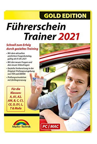 Führerschein Trainer 2021 - original amtlicher Fragebogen