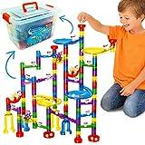 Marble Mania - Juego de mármol para niños de 162 Piezas - Juguete de construcción para niños o niñas de 4 años o más.