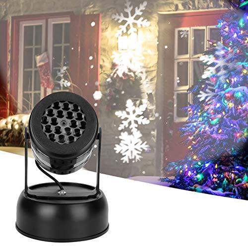 Jopwkuin Proyector USB Blizzard Blanco, proyector portátil para Otras Ocasiones para Piscinas, Bares, Clubes, Jardines, Bodas