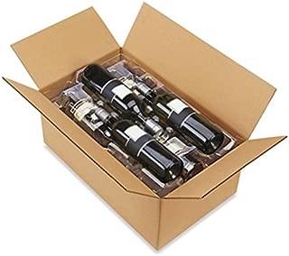 Plastic Wine Shippers Cushion Box - 6 Bottle Pack