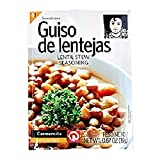 Carmencita Stew de Lentejas Condimento 19g - Obtener el sabor auténtico del guiso de lentejas español con esta selección de condimento de