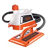 BLACK+DECKER 2400 W Wallpaper Steamer Stripper with Pad, Removes Vinyl, Multi-Layered, Painted and Textured coatings, KX3300T-GB