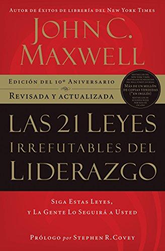 Portada del libro Las 21 leyes irrefutables del liderazgo de John C. Maxwell