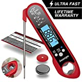 Best Digital Meat Thermometers - Juseepo Waterproof Digital Instant Read Meat Thermometer Review