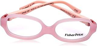 Fisher-Price FPV20 Rectangular Medical Glasses for Kids - Pink