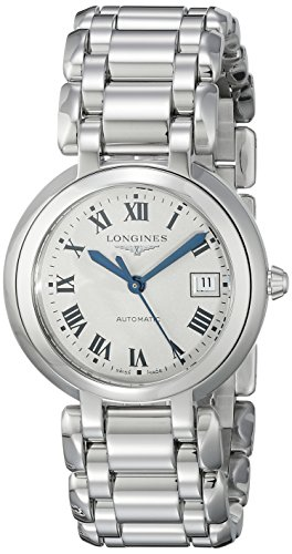 Longines PrimaLuna Mother of Pearl Stainless Steel Ladies Watch L81134716