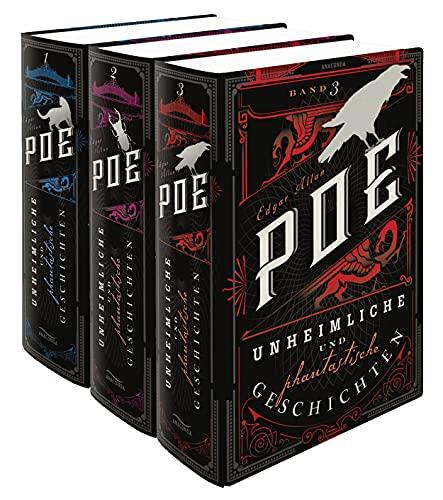 Edgar Allan Poe, Unheimliche und phantastische Geschichten (3 Bände)