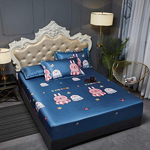 JRDTYS Super Soft Warm and Cosy Fitted Bed SheetThe bed cover is machine washable and non-slip-05_180cmx200cm+30cm