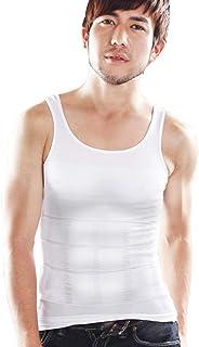 加圧インナー メンズ タンクトップ 筋トレ時に着用 MONOVO マッスルプレス 1枚(黒、白/S、M、L)