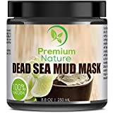 Dead Sea Mud Mask for Face and Body - 8.8 oz Melts Cellulite Treats...