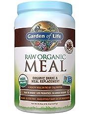 Save on Garden of Life Meal Replacement - Organic Raw Plant Based Protein Powder, Chocolate, Vegan, Gluten-Free, 35.9oz (2lb 4oz/1,017g) Powder