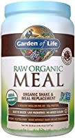 Garden of Life Meal Replacement - Organic Raw Plant Based Protein Powder, Chocolate, Vegan, Gluten-Free, 35.9oz (2lb...