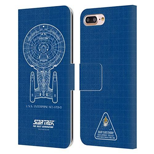 Head Case Designs Licenciado Oficialmente Star Trek USS Enterprise NCC-1701-D Adaptador de...