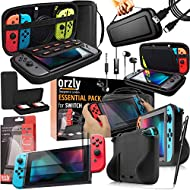 THIS PACK CONTAINS: 1x Black Travel Case (for console* & accessories), 1x Compact Game Cartridge Case (for upto 4 games*), 1x Comfort Grip Case, 1x USB Charging Cable, 1x Portable Headphones, 2x Tempered Glass Screen Protectors… PACK ALSO INCLUDES: 1...