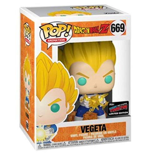 Funko 43393 Dragon Ball-Z Vegeta Pop Figura de Vinilo, Multicolor