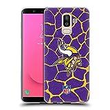 Head Case Designs sous Licence Officielle NFL Empreinte d'animal Girafe Minnesota Vikings Art Coque...