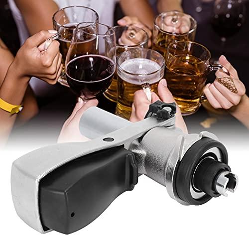 Dispensador de cerveza, equipo de cerveza de acero inoxidable G5 / 8 Tipo S práctico para el hogar