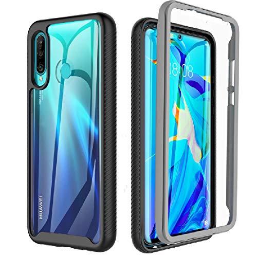 Cover Huawei p30 Lite, Cover Huawei P30 Lite New Edition Trasparente Antiurto 360° Protettiva con TPU Incorporato Pellicola Protettiva Integrata Case Custodia per Huawei P30 lite/P30 Lite New Edition