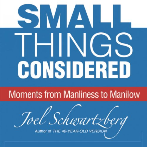 Small Things Considered audiobook cover art