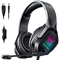 ONIKUMA Noise Canceling Over-Ear Gaming Headset with Microphone