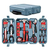 Hi-Spec 49 Piece Home & Garage Multi Tool Kit Set. Practical Hand Tools for DIY Repair & Maintenance in the Home, Garage and Workshop. All In a Swing-Door Carry Case