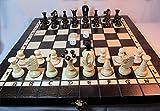 ajedrez y backgammon madera
