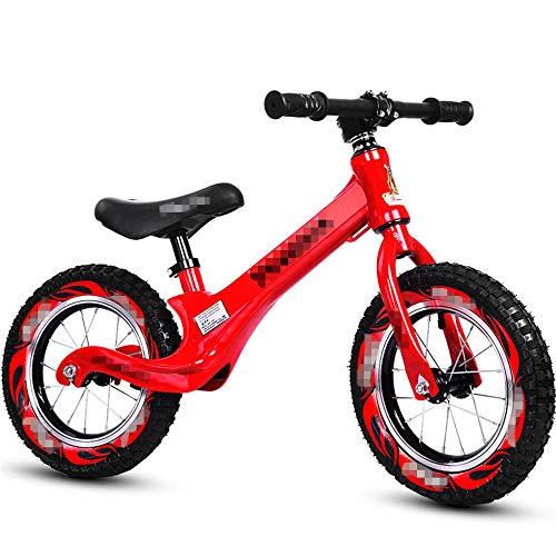 YSCYLY Bicicleta Equilibrio para NiñOs,Scooter de Doble Rueda de 3-6 años,Primer Regalo De CumpleañOs para NiñOs