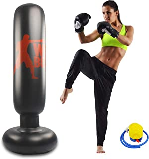 Punching Bag PVC Inflatable Boxing Pressure Relief Heavy Duty Boxing Target