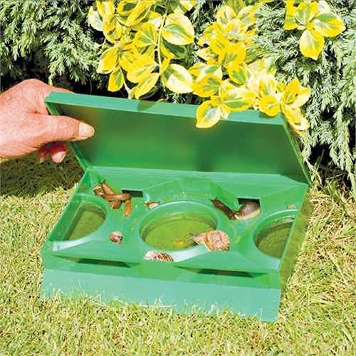Slug X Slug & Snail Organic Slug Trap - Twin pack