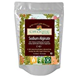 Sodium Alginate 100% Food Grade | Natural Thickening Powder & Gelling Agent for Cooking ( 16 Oz)