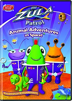 DVD The Zula Patrol: Animal Adventures in Space Book