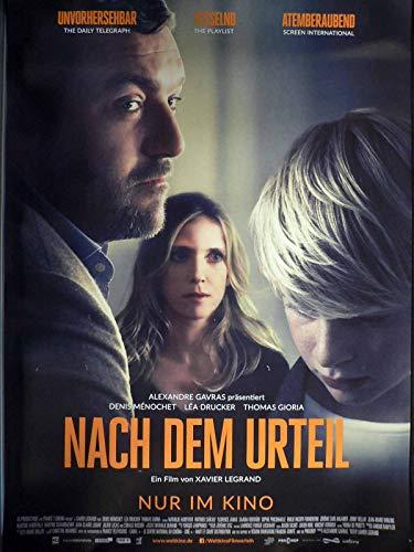 Nach dem Urteil - Lea Drucker - Denis Menochet - Filmposter A1 84x60cm gerollt