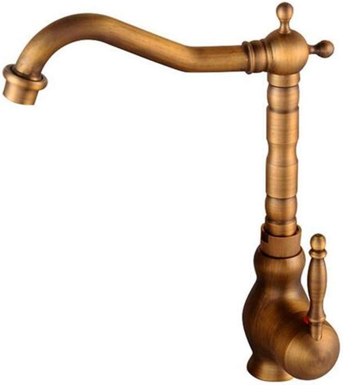 Kitchen Bath Basin Sink Bathroom Taps Sink Taps Bathroom Kitchen Sink Taps Brass 2 Holes Hot and Cold Ctzl2780