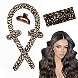 Hair Rollers For Long Hair Curlers Heatless Curls Flexi Rods Jumbo Large Big No Heat Hair Roller You Can Sleep In Soft Foam Curling Rods Hair Rollers Overnight for Women Gril's