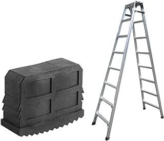 2Pcs/Pair Ladder Mat Rubber Non Slip Ladder Covers Replacement Step Ladder Feet Foot Mat Cushion Sole Black