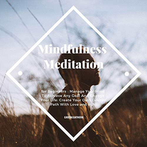 Mindfulness Meditation for Beginners: Manage Your Mind to Achieve Any Goal and Change Your Life: Create Your Own Desired Path with Love and Light cover art