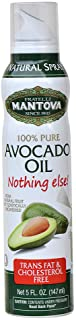Mantova 100% Avocado Oil Spray 5 oz. Spray Bottle - Manage Oil Amount - Great For Salads & Cooking
