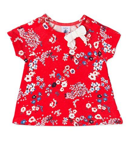 Petit Bateau T- Shirt MC_24240, Bébé Fille, Multicolore (PEPS/Multico), 68 cm (Taille du Fabricant: 6M/67 cm)