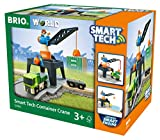 BRIO Bahn 33962 - Smart Tech Große Container-Verladestation