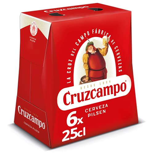 Cruzcampo Cerveza, 6 x 250ml