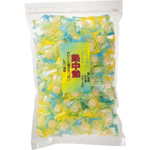 井関食品 熱中飴(業務用) レモン塩味 1kg 業パ3袋