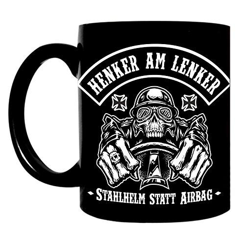 Kaffeetasse Tasse Schrauber Tuner Auto Stahlhelm statt Airbag